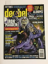 Iron Maiden 1 / 2007 Decibel Magazine # 27 Bruce Dickinson