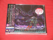 2017 JAPAN CD CRY VENOM Vanquish The Demon with Bonus Track