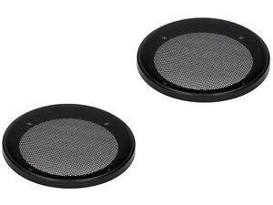 2 Stück LS Universal Abdeckung Lautsprechergitter für 100mm Lautsprecher 10cm