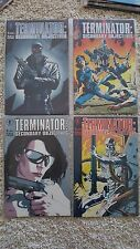 7 books:Terminator All My Future's Past, Secondary Objectives, etc. FP NM