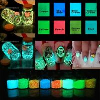 Noctilucent Aquarium Luminous Glow Gravel Fluorescent Particles Fish Tank Sand