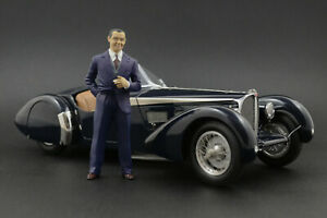 Jean Bugatti Figure for 1:18 AUTOart 57SC Atlantic Veyron 16.4  !! NO CAR !!