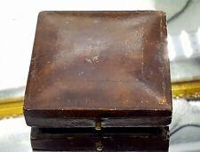 Antique Jewellery leather box. J.B.Yabsley.