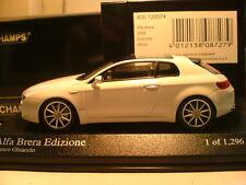 VERY RARE MINICHAMPS 1/43 2008 ALFA ROMEO BRERA EDIZIONE OUTSTANDING DETAIL NLA