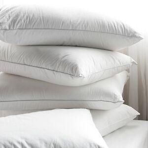 Pack of 2 Luxury Duck Feather Pillow Deep Sleep Pillows