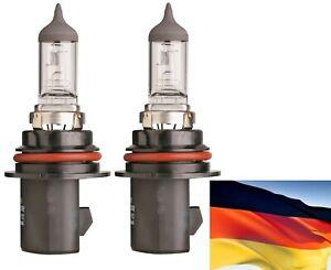 Flosser Rally 9007 HB5 100/80W 9107 Two Bulbs Head Light Dual Beam Off Road Lamp