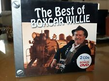 The Best Of Boxcar Willie. 2006. 2cd + DVD. 24 hits. Like new!
