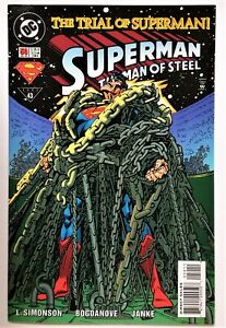 Superman: The Man of Steel #50 (Nov 1995, DC) NM