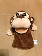 """Kelly Toy Animal Friends Monkey Hand Glove Puppet 11"""" Brand New Play Therapy"""