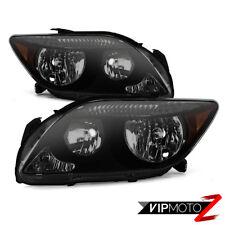 !DARKEST SMOKE! 2005-2007 Scion tC RS {FACTORY STYLE} JDM Headlights Lamps SET
