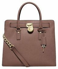 Michael Kors Bag 30S2GHMT3L MK Hamilton  Large Leather NS Tote Dusty Rose