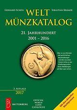 Weltmünzkatalog 21 Jahrhundert 2001-2016 Münzen Katalog Seiten Battenberg Buch