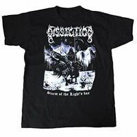 "Vintage Dissection /""World Tour Of The Lights Bane/"" T-shirt Gildan REPRINT Black"