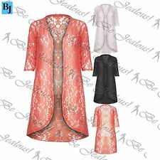 Polyester 3/4 Sleeve Floral Jumpers & Cardigans for Women
