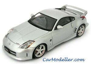 Ebbro Nissan Nismo Fairlady Z S-Tune GT - metallic silver - 1:43 scale - #43676