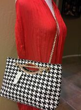 Alabama Crimson Tide inspired Hounds tooth Handbag Purse Shoulder Bag, 3 in 1!