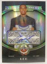 2008-09 Topps Treasury Courtney Lee Autograph Refractor Rookie Card # 135
