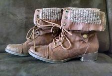 Stiefel Stiefeletten Schuhe Western Boots Gr. 38 braun