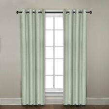 """Veratex The Madison Window Collection Grommet Panel Curtain, Sage, 50"""" x 96"""""""