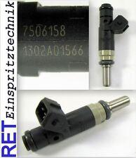 Einspritzdüse SIEMENS 7506158 BMW 316 i 116 i 1302A01566 gereinigt & geprüft