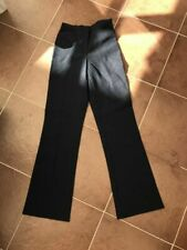 School Trousers 4 Pairs girls Navy School Uniform Teen Waist 22� Leg 30� Sc33