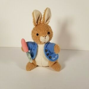 Eden Peter Rabbit Plush Bunny Musical Wind Up Toy