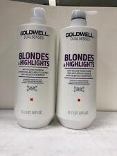 Goldwell Blondes & Highlights Dual Senses Shampoo Conditioner 1 qt 18 oz 1 LDUO