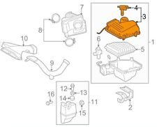 For Toyota Genuine Air Cleaner Cover 17705AD016