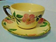 Franciscan DESERT ROSE Large Tea Cup And Saucer Set