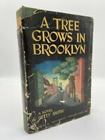 A Tree Grows in Brooklyn – FIRST EDITION – RARE 1ST ISSUE DJ – Betty SMITH 1943