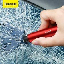 Martillo de seguridad Baseus Coche Ventana Vidrio Breaker Herramienta de emergencia cortador de cinturón de seguridad