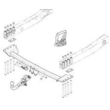 Brink Towbar for Ssangyong Rexton (Y400) 2017 Onwards  - Detachable Tow Bar