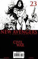 New Avengers #23 Civil War Sketch Variant  Marvel Comic Book, 2006 NM