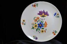Vintage German Porcelain Plate Floral  Z. S. & G Bavaria Dish Tableware Snack