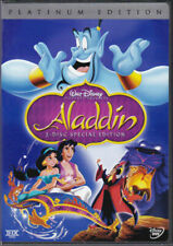 2004 Authentic Disney Aladdin 2-disc Platinum Edition DVD OOP Slipcover BV