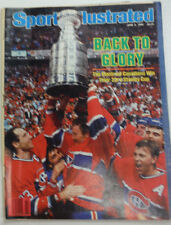 Sports Illustrated Magazine Montreal Wins Their 23rd Stanley June 1986 051215R