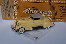 BROOKLIN BRK 93 1935 STUDEBAKER COMMANDER ROADSTER SOFT TOP UP 1/43