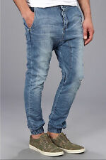 New with Tags - $159.00 Zanerobe Slingshot Blow Out Blue Denim Joggers Size 36