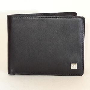 Calvin Klein wallet New Genuine Soft Cow Leather Black Men`s Wallet
