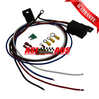 Electric Cooling Thermostat Fan Sensor Temperature Switch 30AMP Wiring Relay Kit
