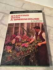 1968 HB Book Starting With A Greenhouse S Clapham 1st Ed