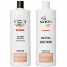 Nioxin System 3 Cleanser Shampoo & Scalp Therapy Conditioner Liter DUO, 33.8 Oz