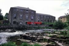 PHOTO  1989 DUNBLANE THE FORMER SPRINGBANK MILLS DUNBLANE A RATHER FLAT AND AGAI