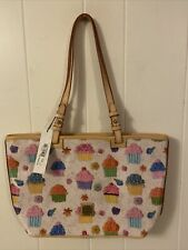 Dooney & Bourke Cupcake Small Leisure Shopper Tote Bag Authentic NWT