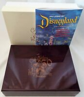 Disney 2005 Disneyland 50 Years of Magical Memories Wooden Box with Guide Book