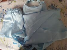 Completino Intimissimi celeste top e casacca taglia M, culotte tg. 2