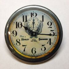 Harley Davidson Motorcycle Clock Fridge Magnet Buy 1 Get 1 FREE