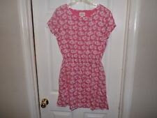 Women's Levis Coral Floral Short Sleeved Dress- Size M- EUC!!!!