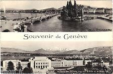 Suisse - cpsm - Souvenir de GENEVE