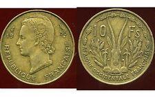AFRIQUE OCCIDENTALE FRANCAISE 10 francs 1956   ANM